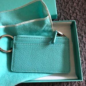 Tiffany & Co. key & card holder